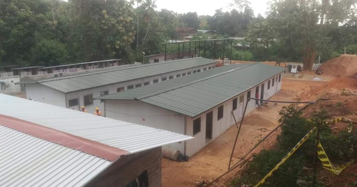 Prefabricated Staff Accommodation
